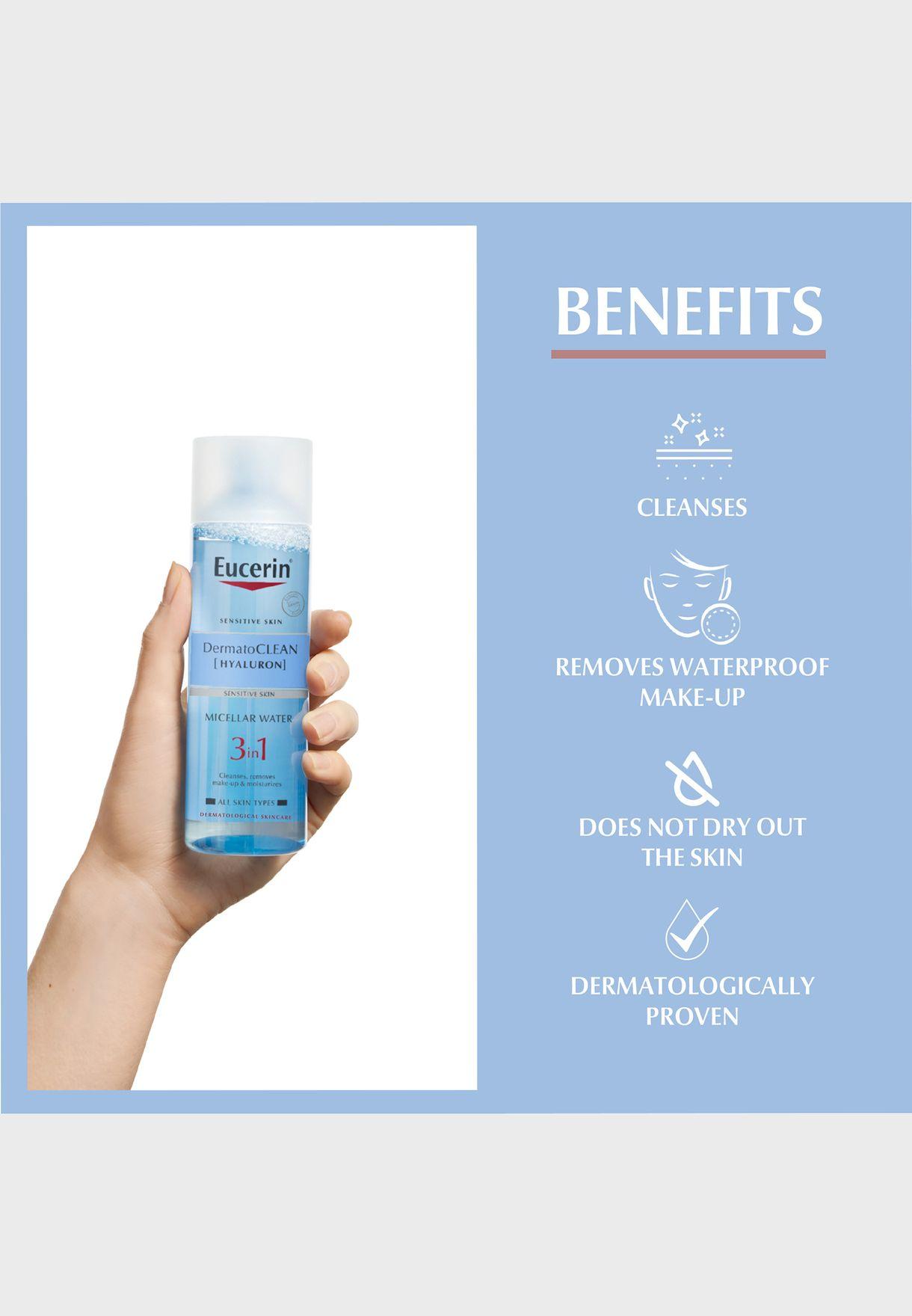 Eucerin DermatoClean 3in1 Micellar Cleansing Fluid 200ml