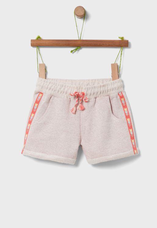 Kids Side Tape Shorts