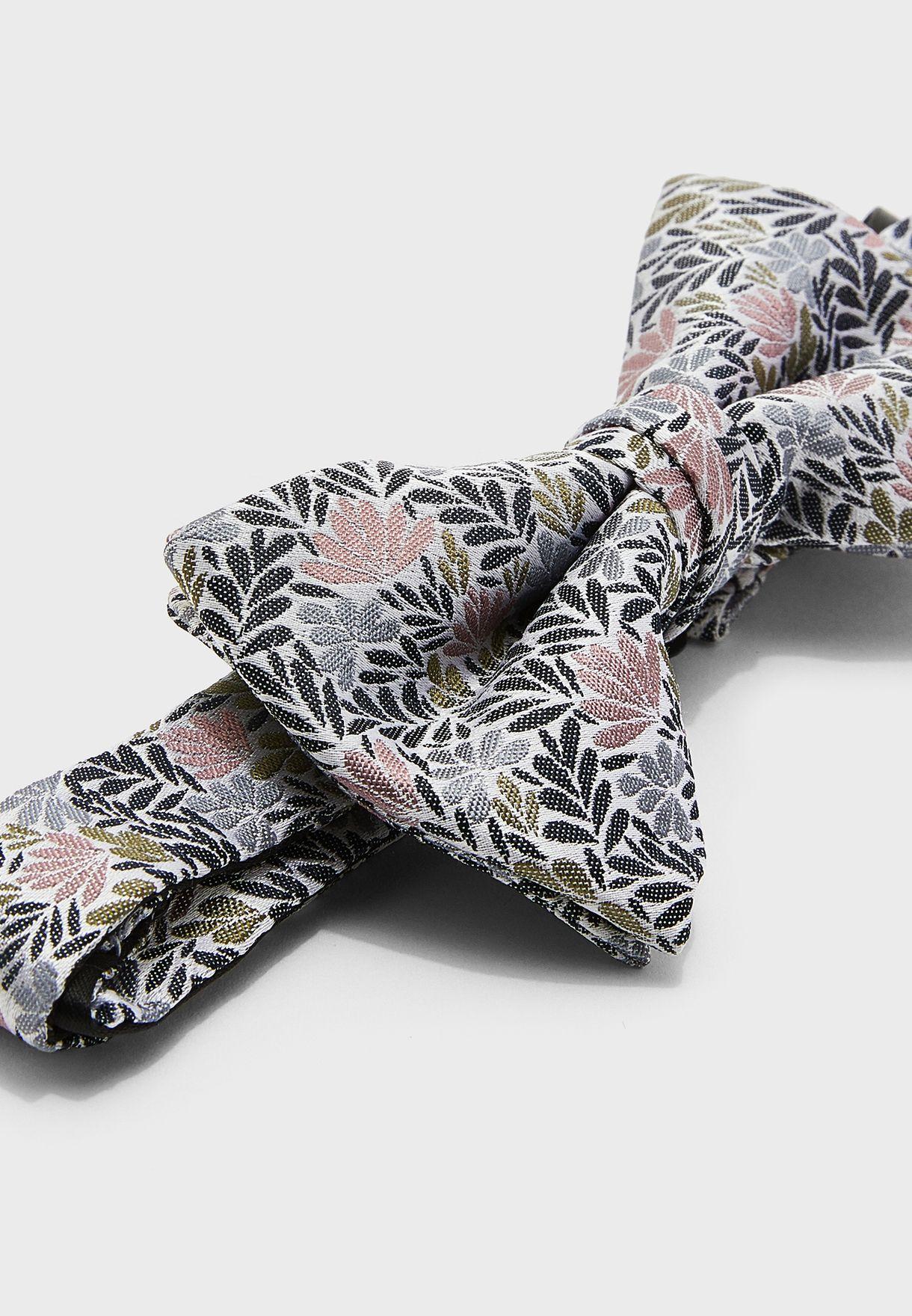 Sortout Floral Jacquard Bow Tie