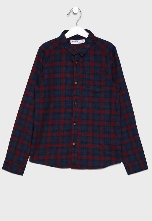 Teen Checked Shirt
