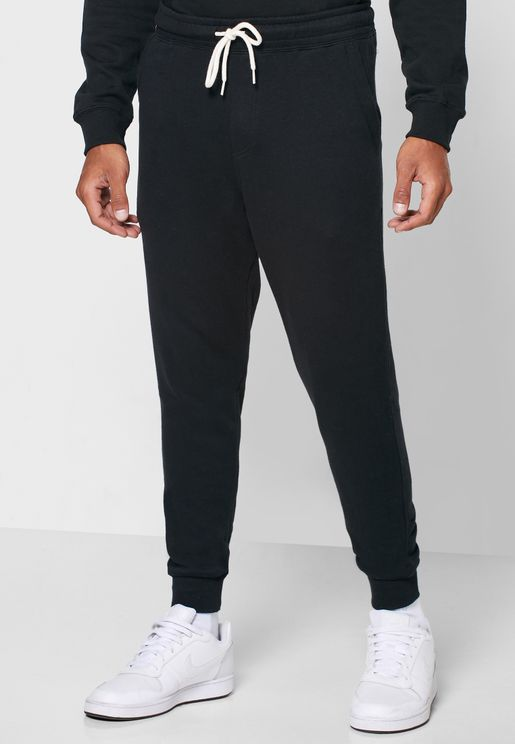 Slim Fit Cuffed Sweatpants