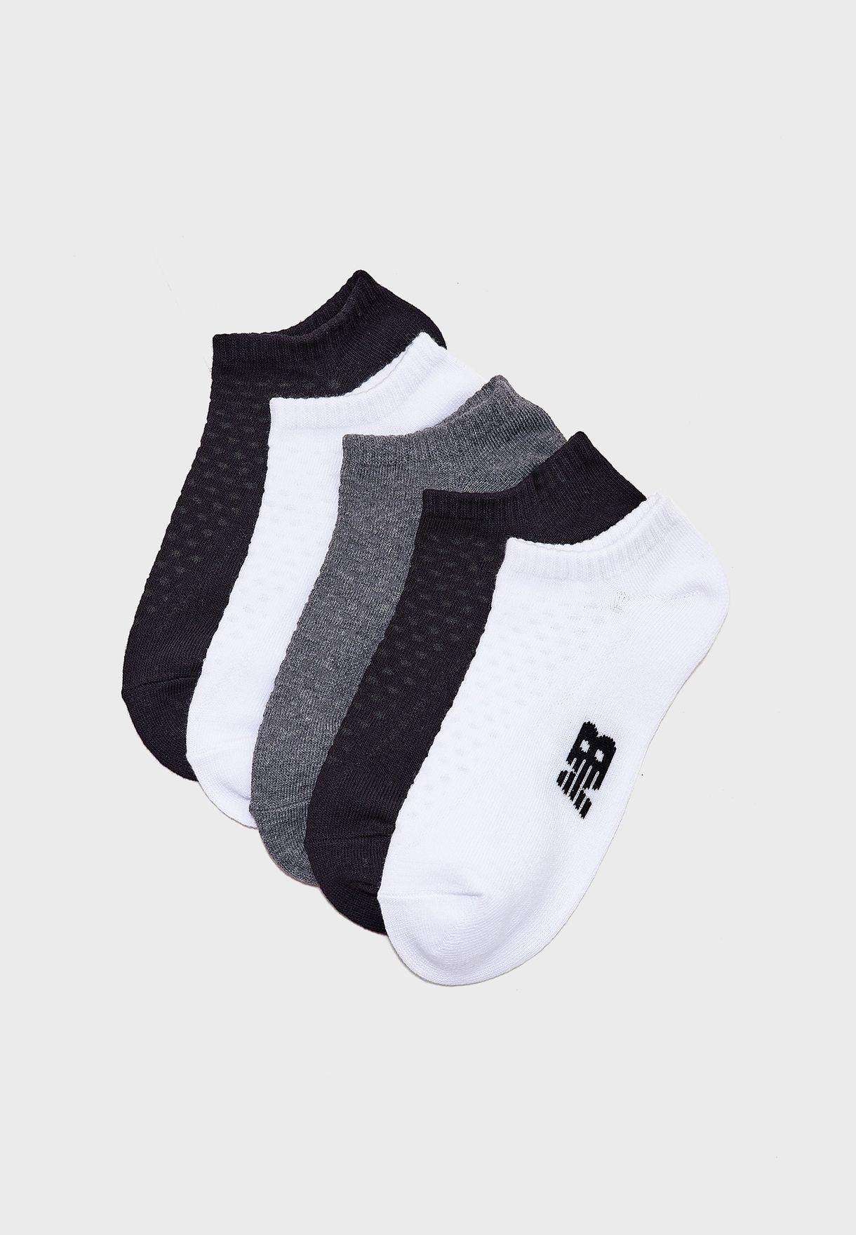 5 Pack No Show Socks