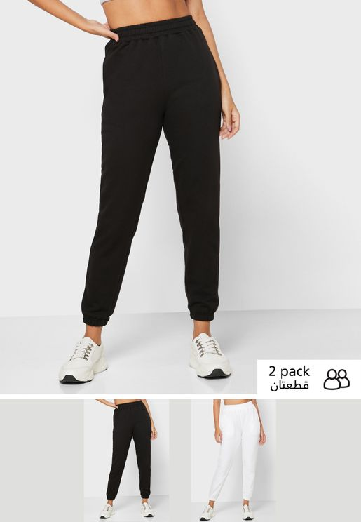 2 Pack Cuffed Joggers