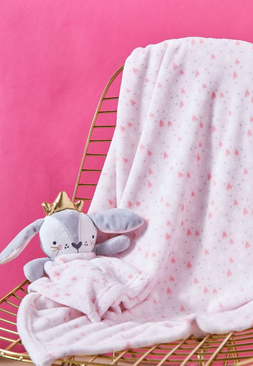 Bunny Comforter And Blanket