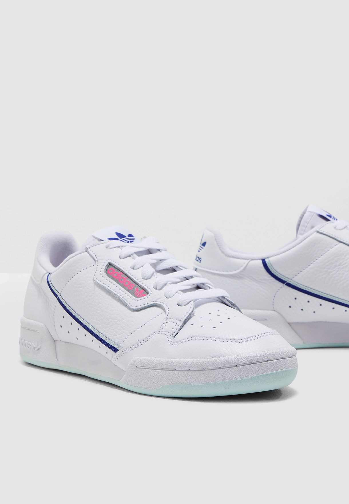 dd207f953 Shop adidas Originals white Continental 80 G27725 for Women in ...