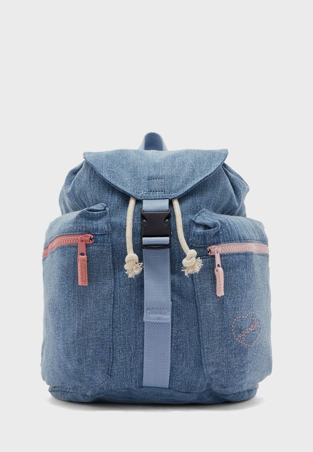 Kids Denim Backpack
