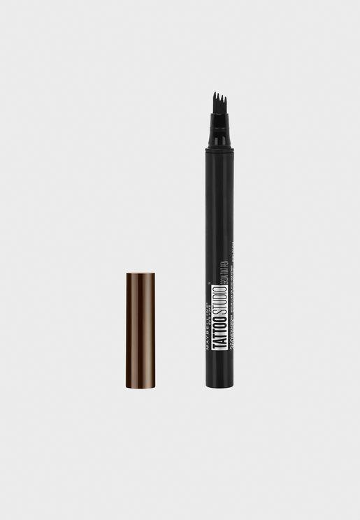 Tattoo Eyebrow Pen - Dark Brown