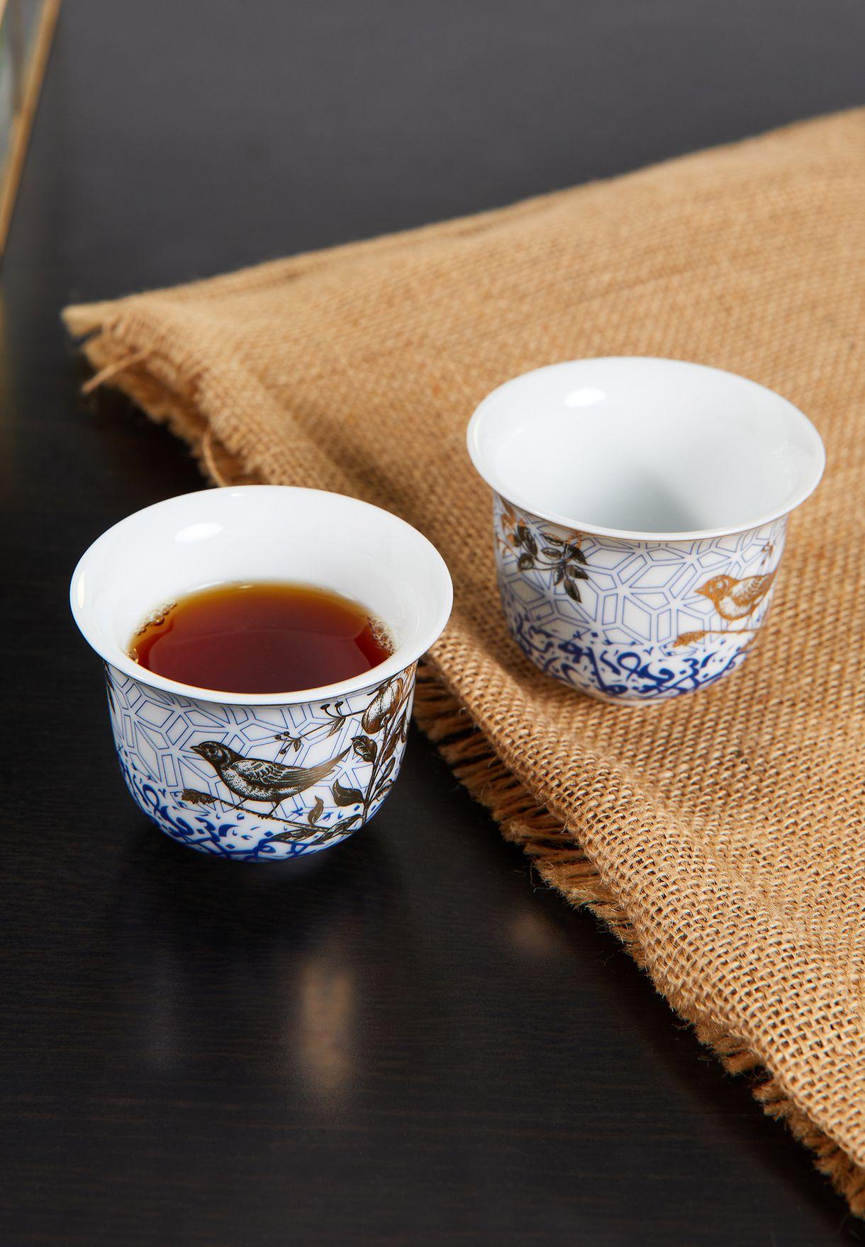 طقم فناجين قهوة عربية عدد 6