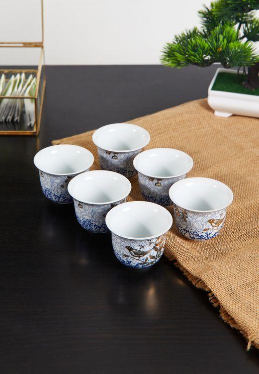 6 Pack Kunooz Arabic Coffee Cup