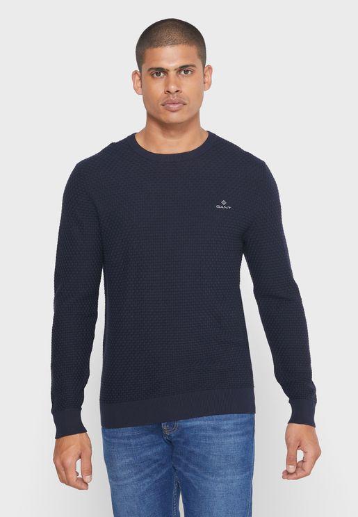 Signature Weave Sweater