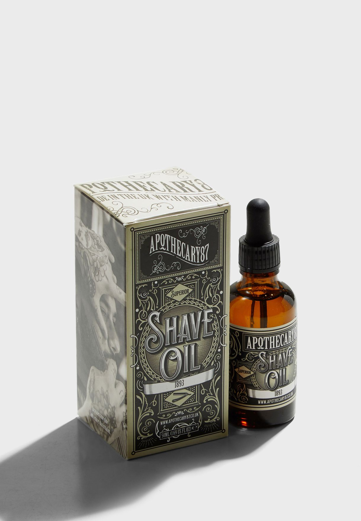 1893 Shave Oil 50ml