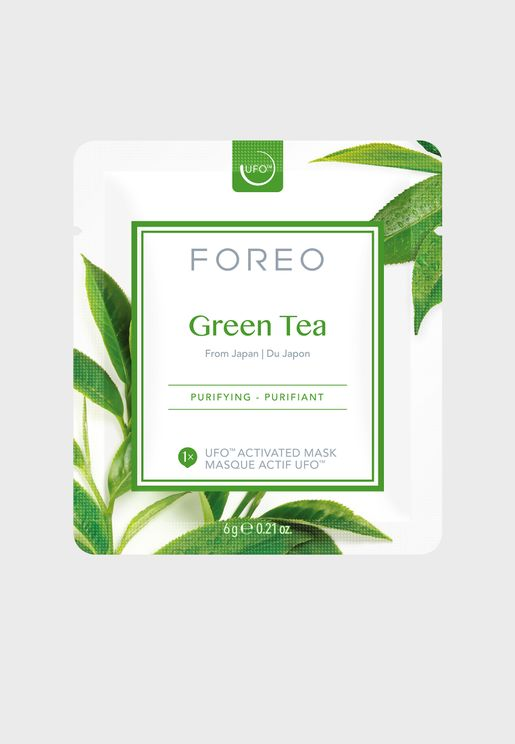 Ufo Mask Green Tea