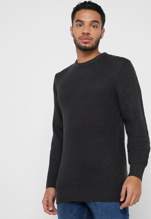 Texture Knit Sweater