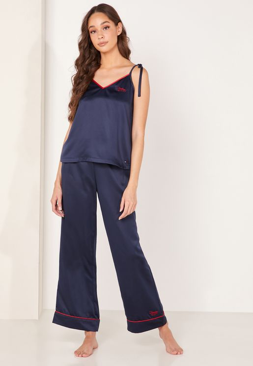 Wide Leg Sleep Pants