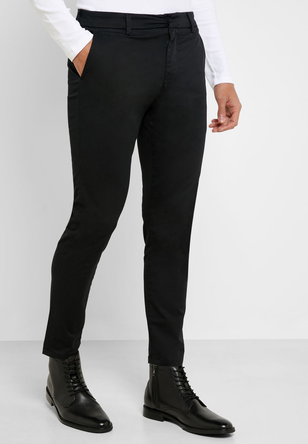 Tailored Skinny Fit Trousers