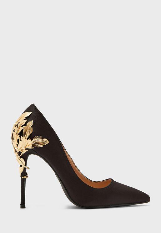 حذاء كاجوال بكعب عالي