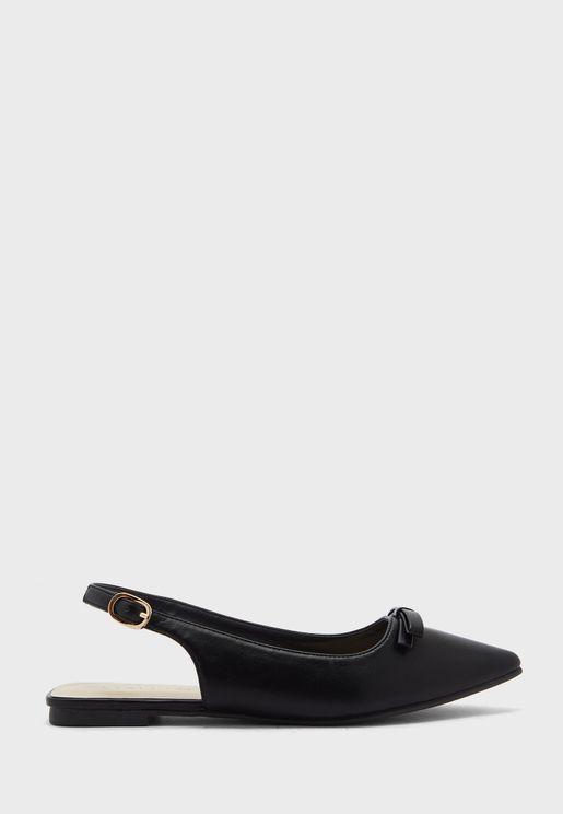Slingback Flat Sandal
