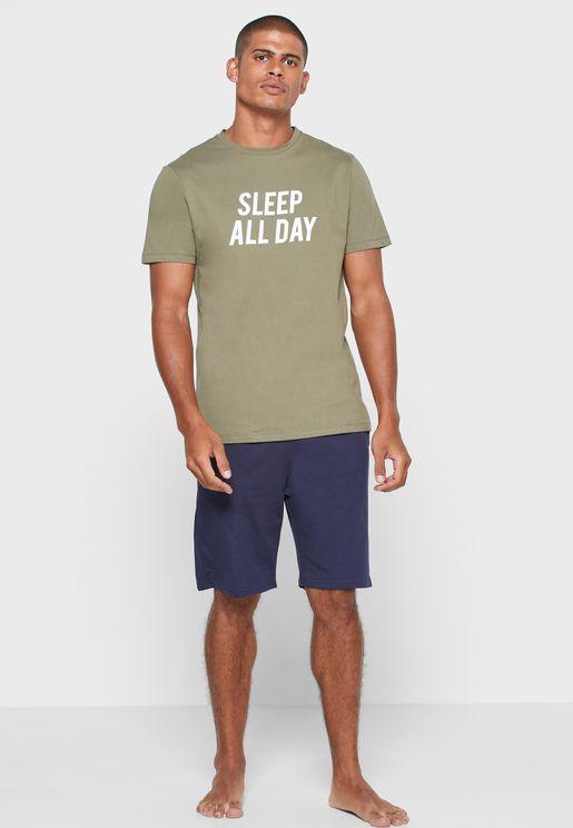 Sleep All Day Nightwear Set