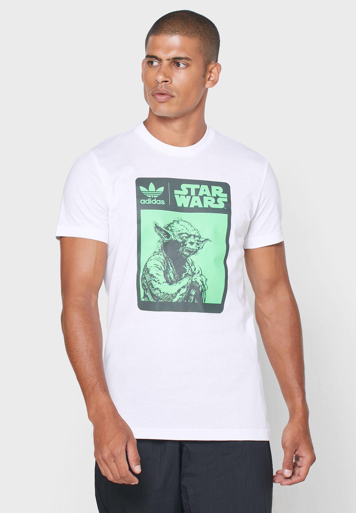 Yoda Box Logo Graphic T-Shirt