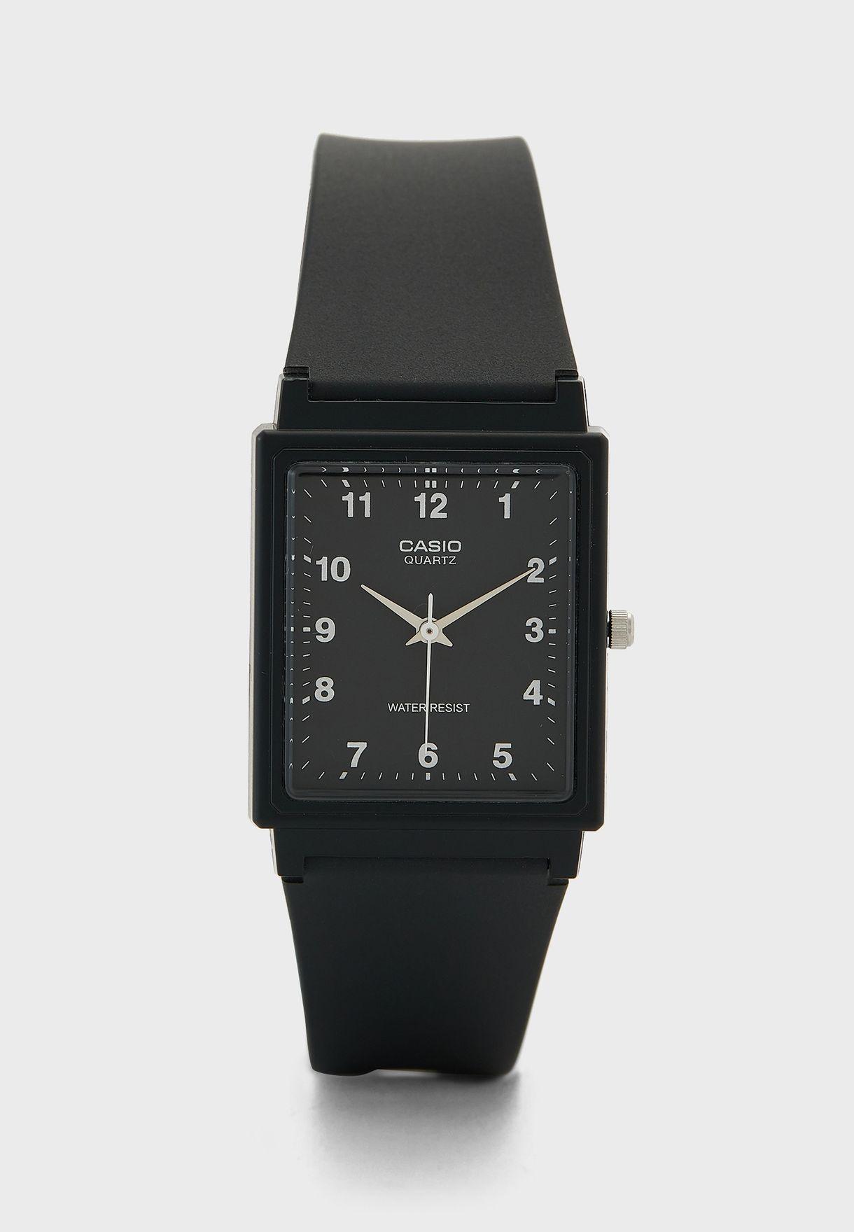 Casio Quartz Watch with Resin Strap