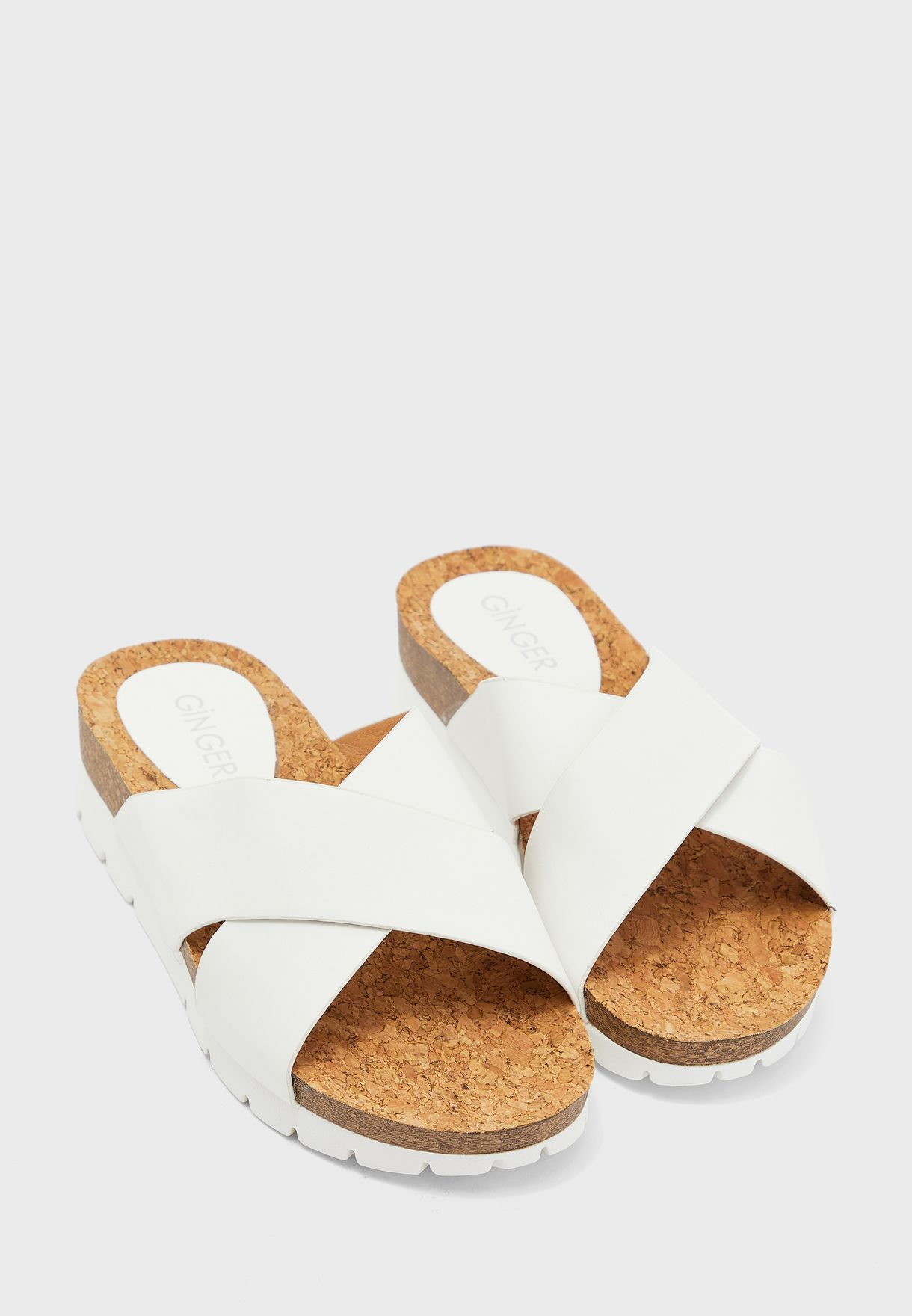 Cross Strap Comfort Sandal