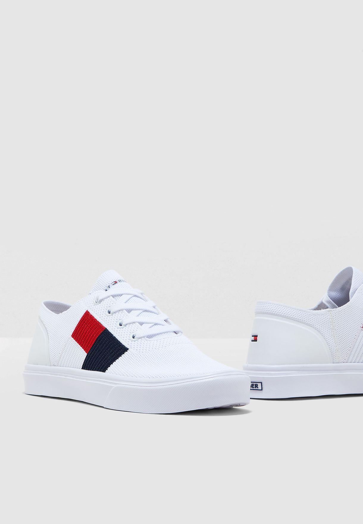 Lightweight Knit Flag Sneakers for Men