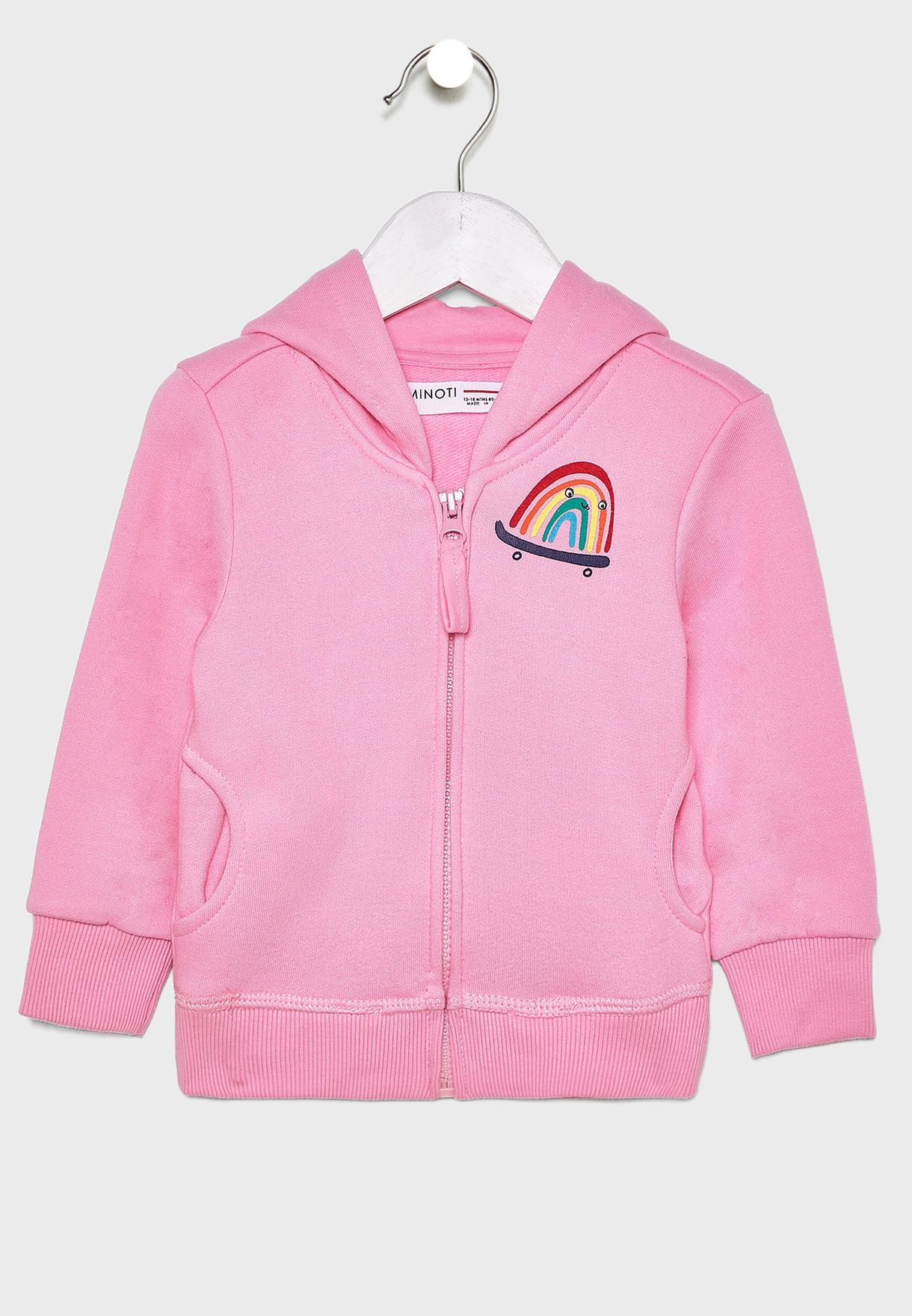 Infant Rainbow Hoodie
