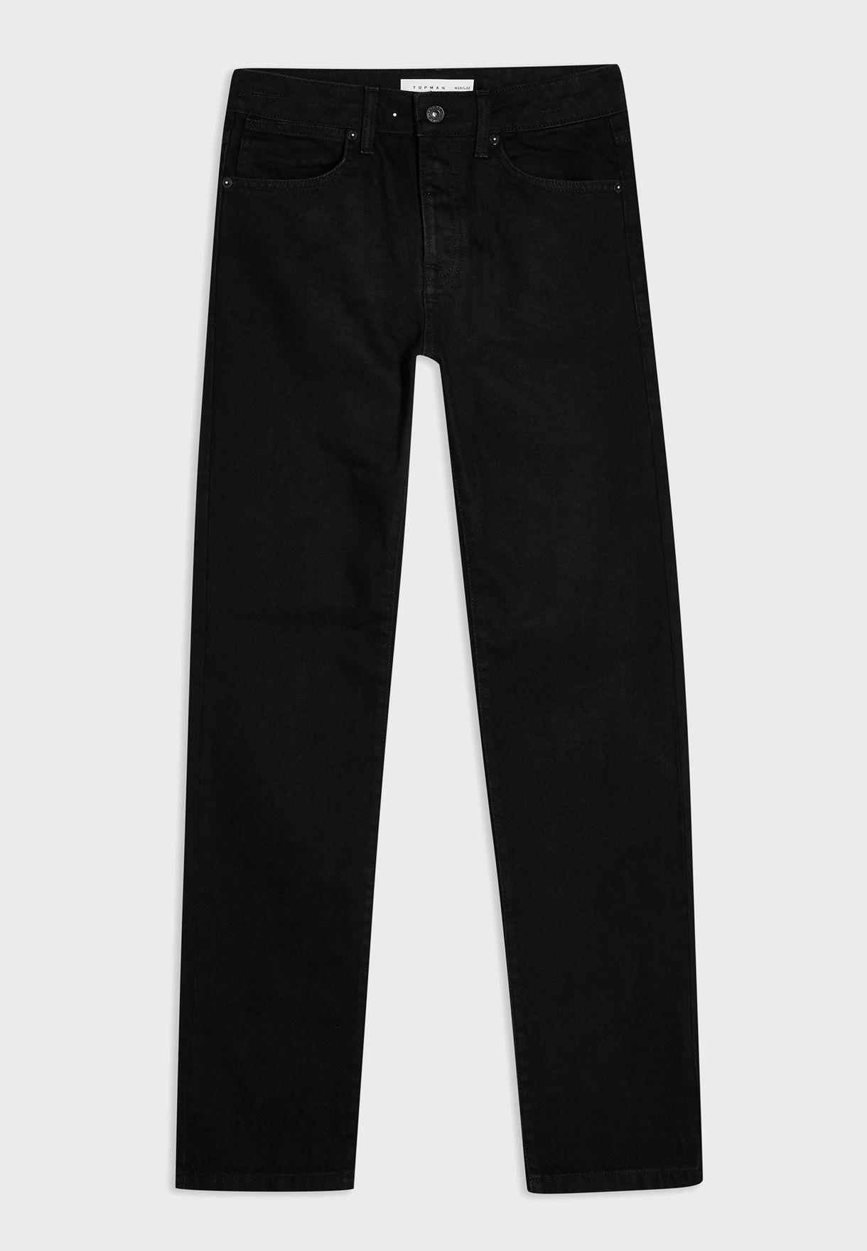 Washed Stretch Slim Jeans
