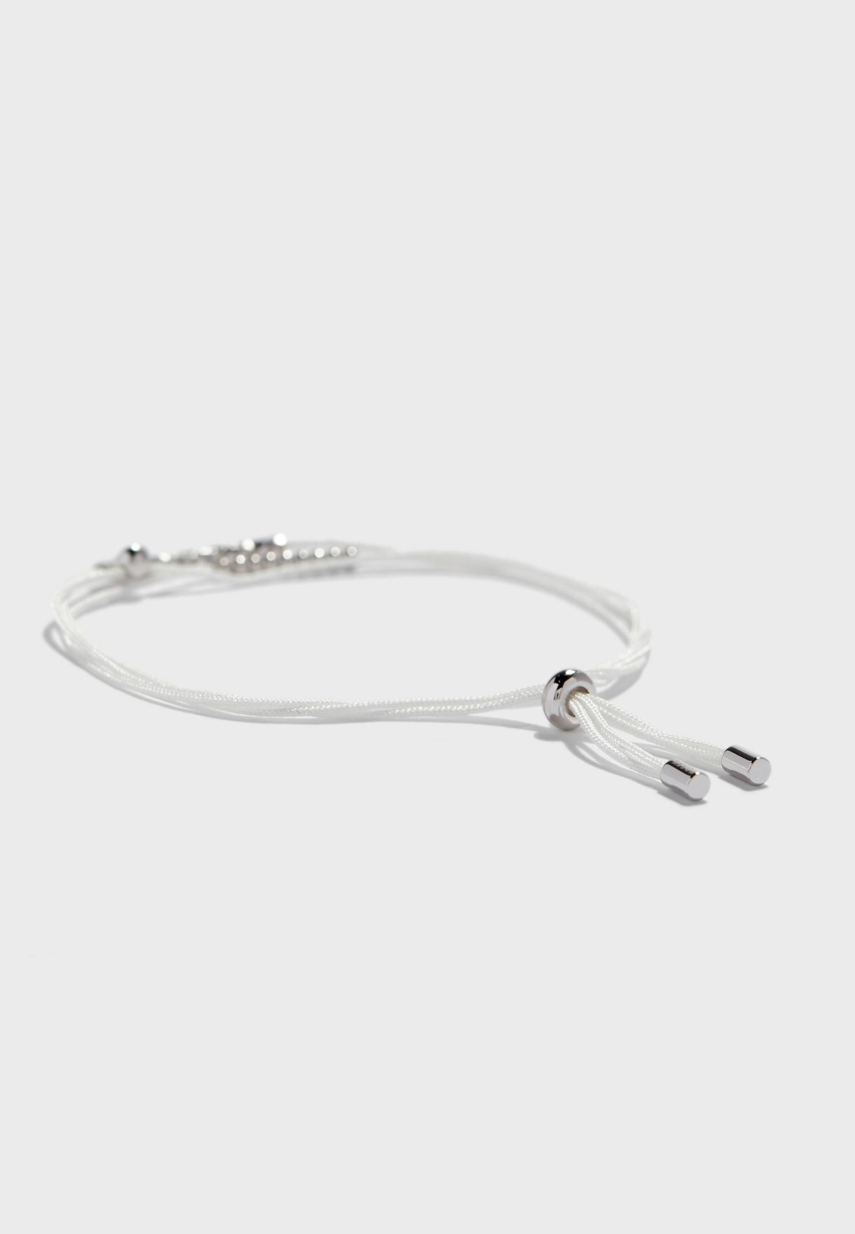 Textured Tubes Multi Strand  Bracelet