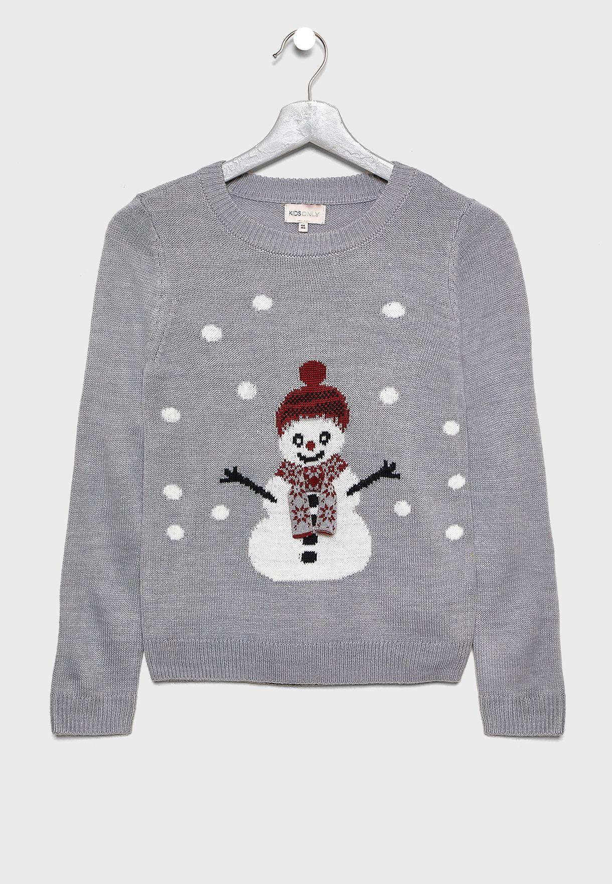 Kids Snowman Sweatshirt