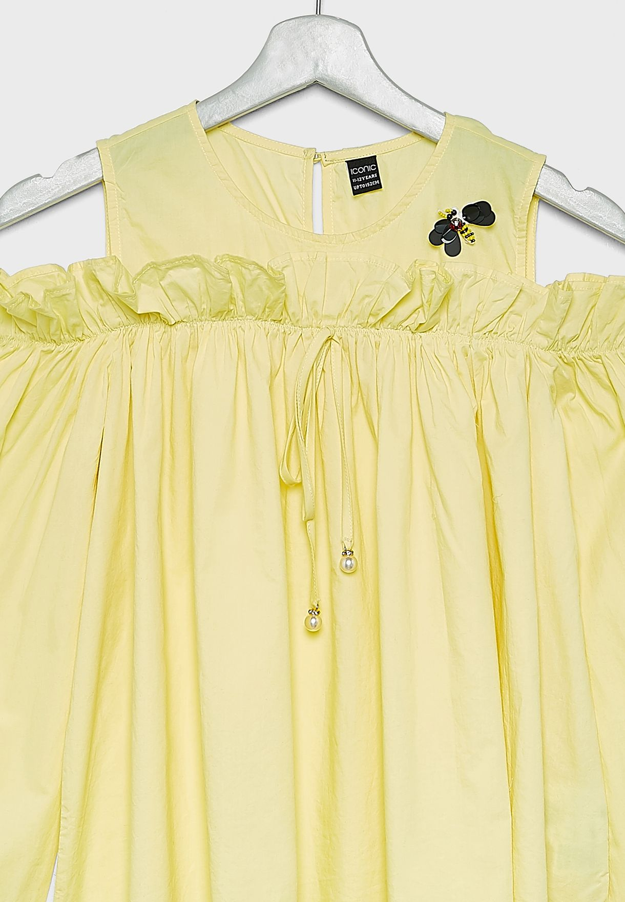 Kids Cold Shoulder Dress