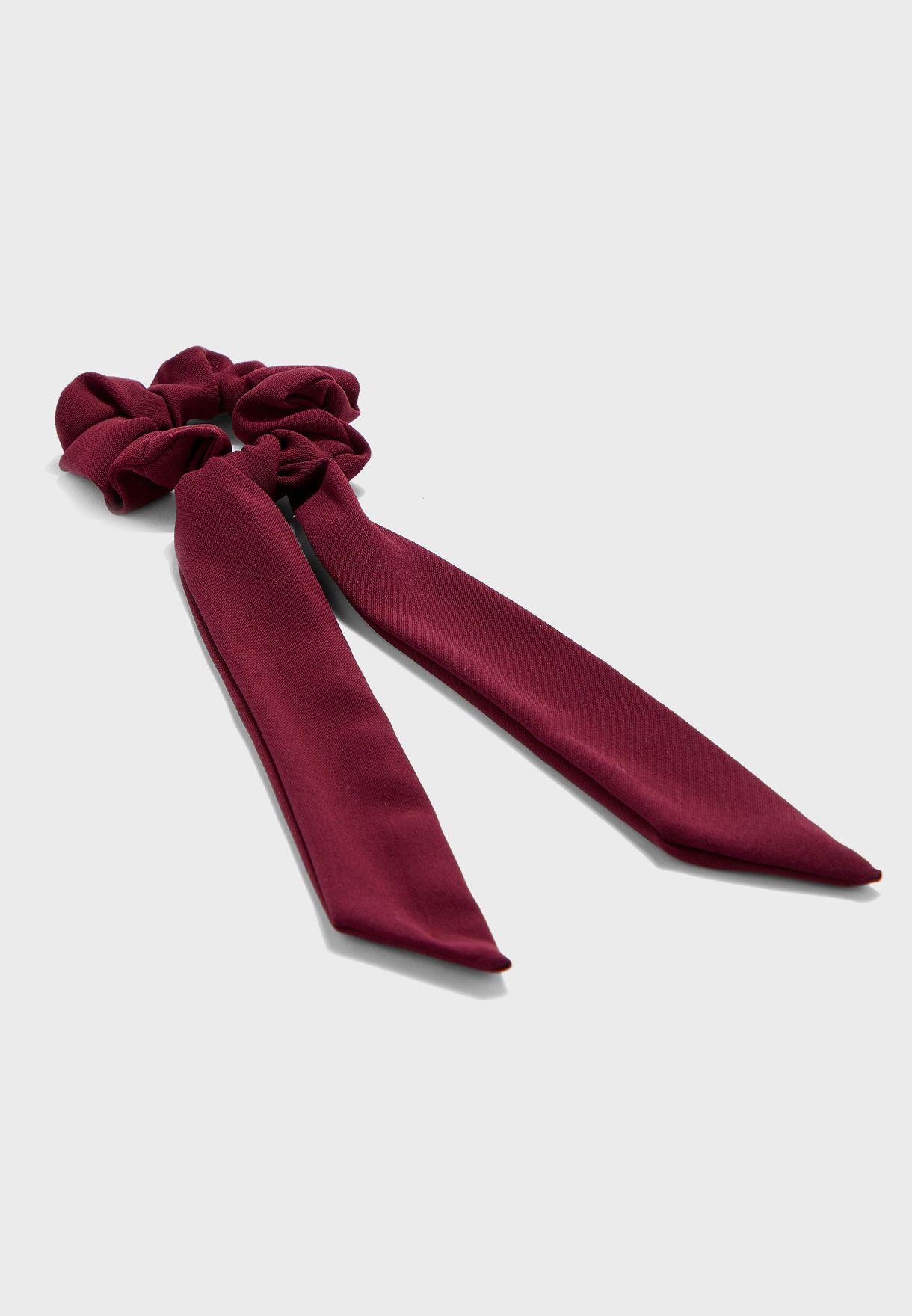 Scrunchie hair tie