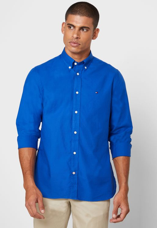 Oxford Striped Regular Fit Shirt
