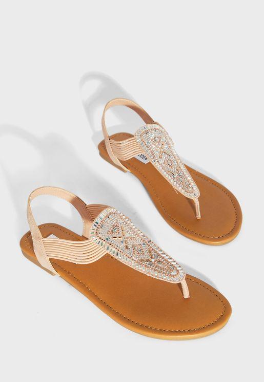 Zurii Flat Sandal