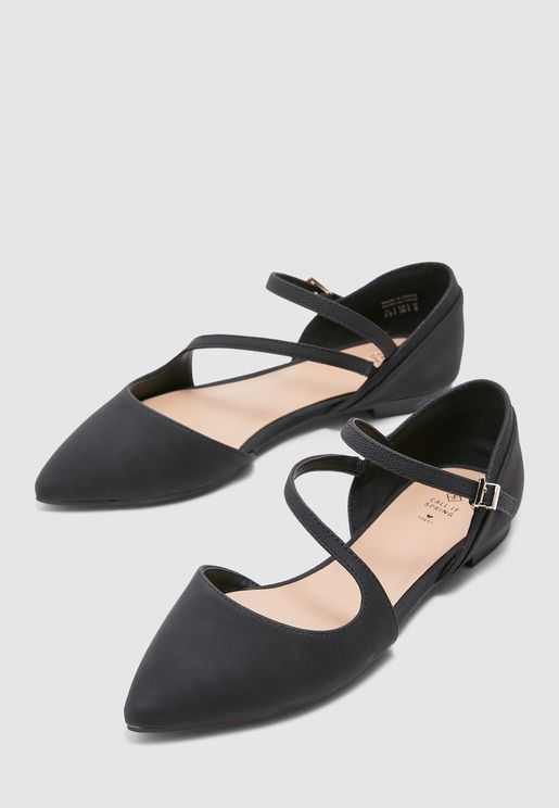 Feross Pointed Toe Ballerina