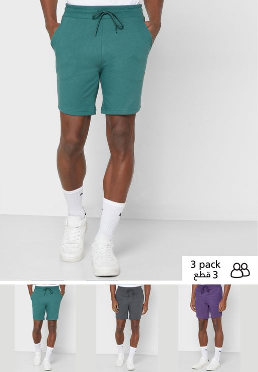 3 Pack Shorts
