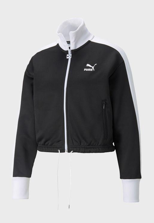 Iconic T7 Cropped Jacket