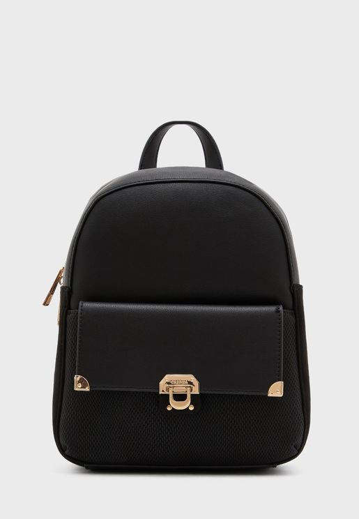 Colorblock Zip Around Backpack