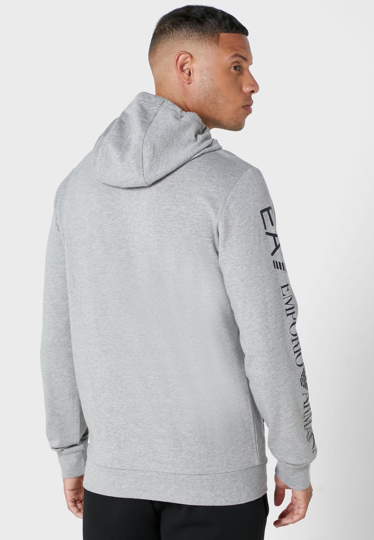 Logo Sleeve Hoodie