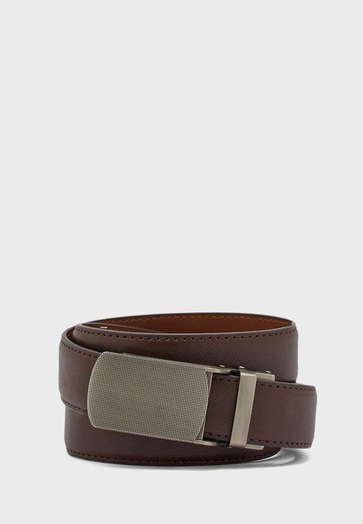 Formal Textured Belt