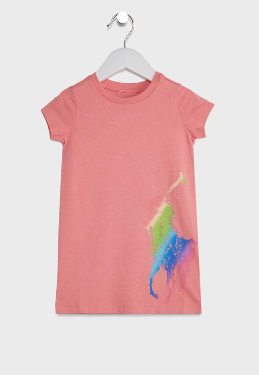 Kids Logo T-Shirt Dress
