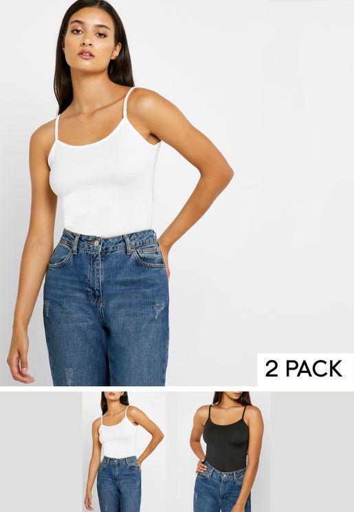 2 Pack Cami Vest