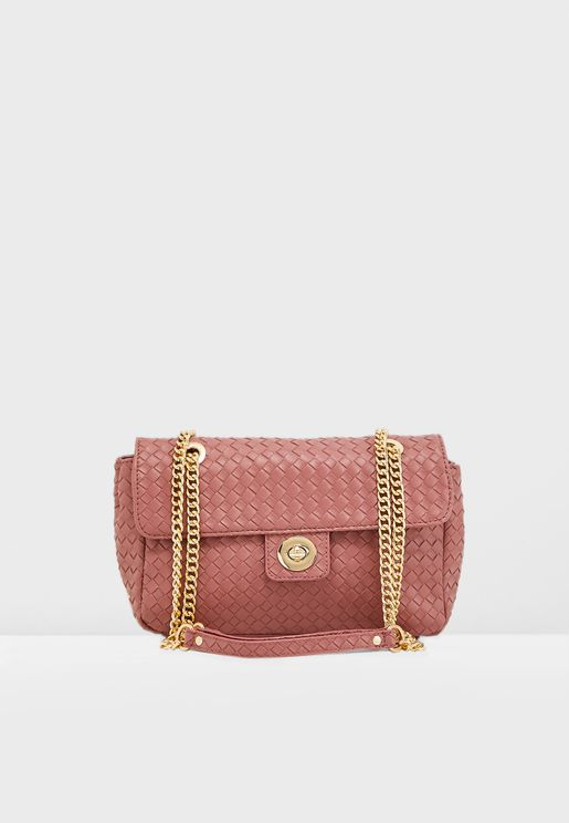 Chain Detail Crossbody