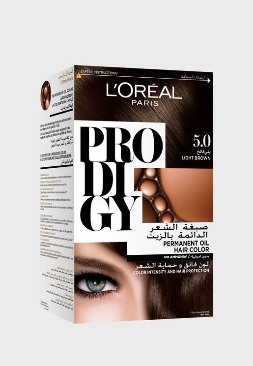 Prodigy Permanent Hair Color Light Brown