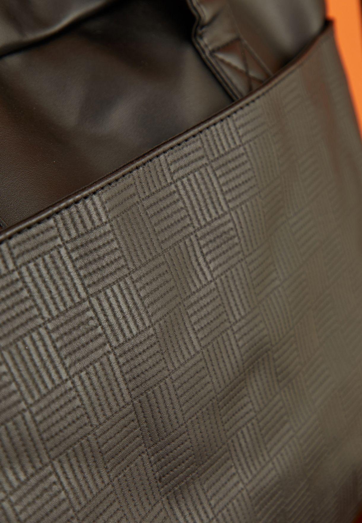 """15"""" Textured Laptop Bag"""