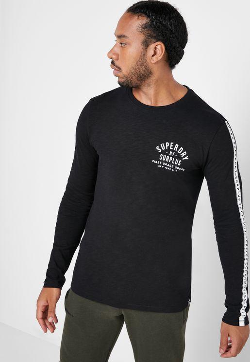 Surplus Goods Graphic Crew Neck T-Shirt