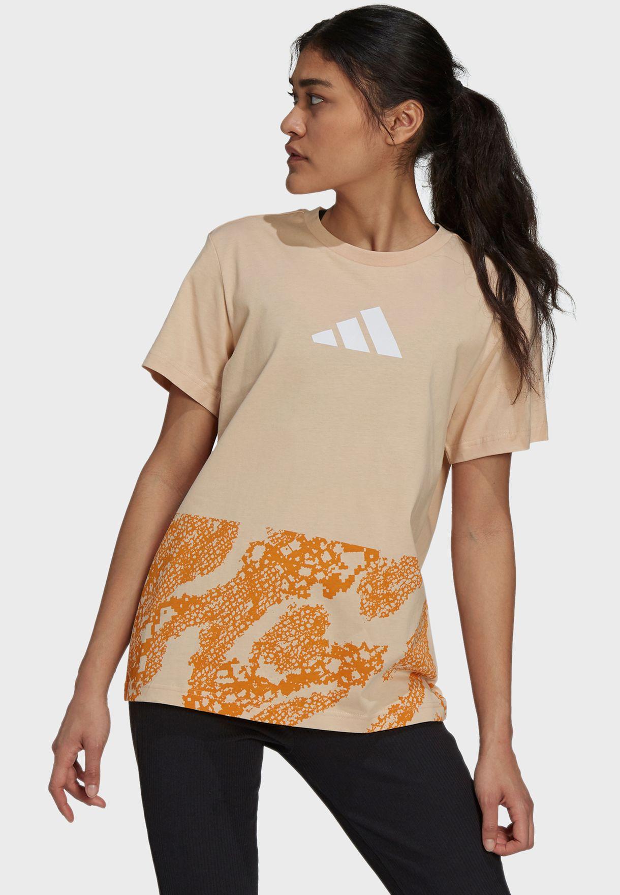 Lace Camo Graphic 2 T-Shirt