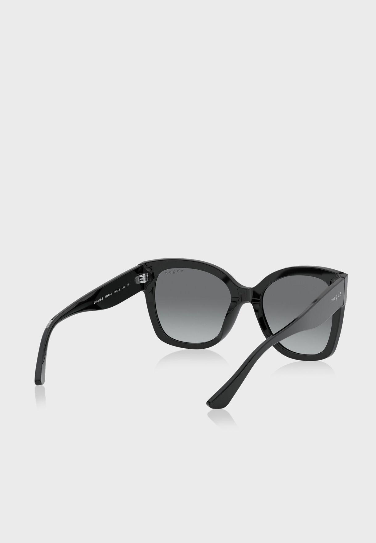 0Vo5338S Oversized Sunglasses