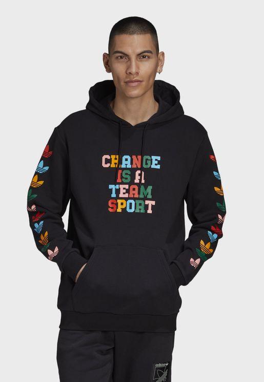 Change Is A Team Sport Hoodie