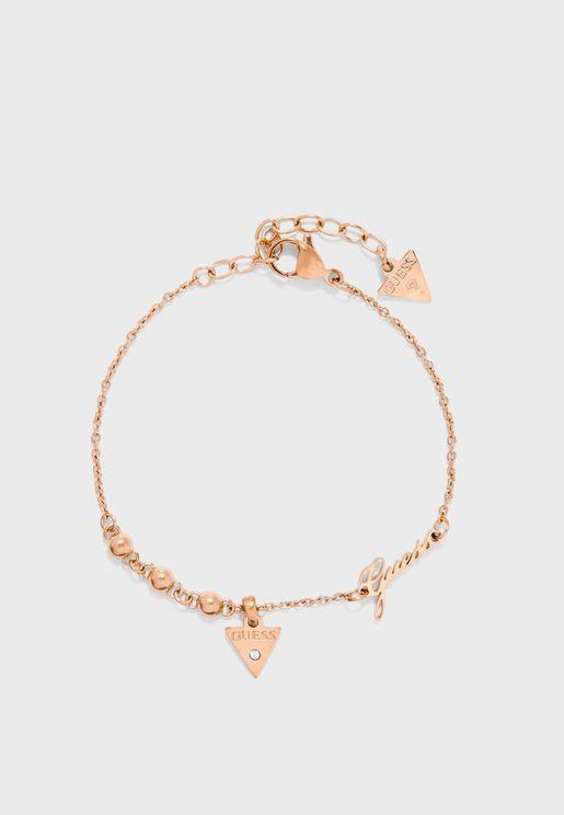 Triangle Charm Bracelet